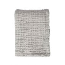 Mies & Co deken wieg soft mousseline gentle grey