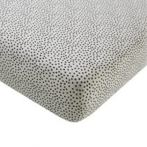Mies & Co hoeslaken wieg Cozy Dots offwhite