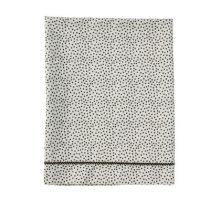 Mies & Co laken wieg Cozy Dots offwhite
