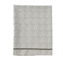 Mies & Co laken wieg Cozy Dots offwhite