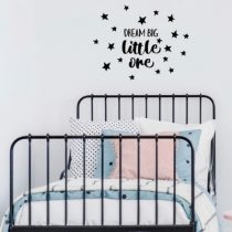 POM muursticker Dream Big zwart