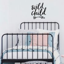 POM muursticker Wild Child zwart