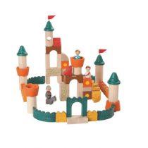 PlanToys houten bouwblokken Fantasy blocks