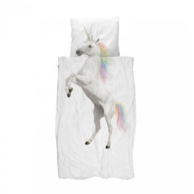 Snurk dekbedovertrek Unicorn eenpersoonsbed