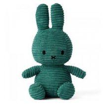 Nijntje Miffy knuffel corduroy groen
