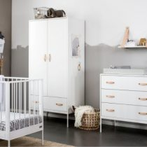 Coming Kids Bliss babykamer compleet wit