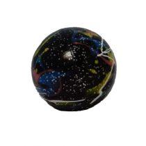 Engelhart Hockeysbal black flamed 68mm
