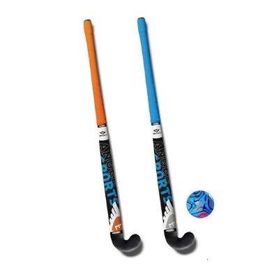 Engelhart Hockeyset 2 sticks 34 inch met kunststof bal