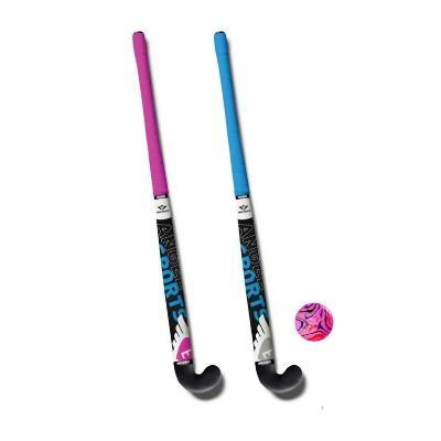 Engelhart Hockeyset 2 sticks 28 inch met kunststof bal