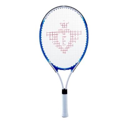 Engelhart tennisracket set 25 inch met 2 ballen blauw