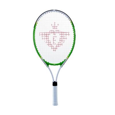 Engelhart tennisracket set 25 inch met 2 ballen groen