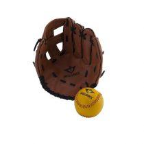 Engelhart honkbal handschoen met bal