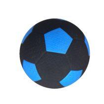 Engelhart rubberen straatvoetbal blauw maat 5