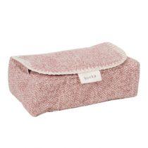 Koeka hoes voor babydoekjes Vigo old pink