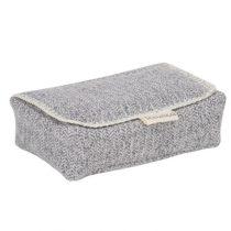 Koeka hoes voor babydoekjes Vigo sparkle grey