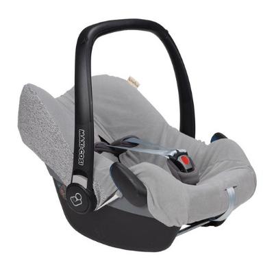 Koeka hoes voor maxi cosi Vigo sparkle grey