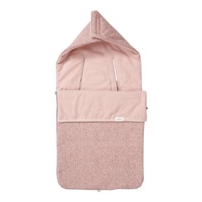 Koeka voetenzak flanel Vigo old pink