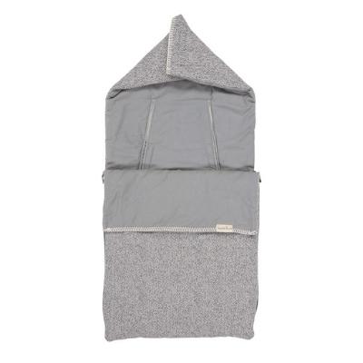 Koeka voetenzak flanel Vigo sparkle grey