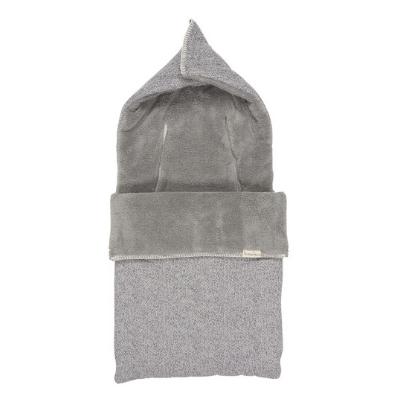Koeka voetenzak teddy Vigo sparkle grey
