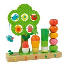 Vilac Ik leer tellen met groenten