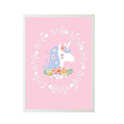 A Little Lovely Company poster lovely unicorn