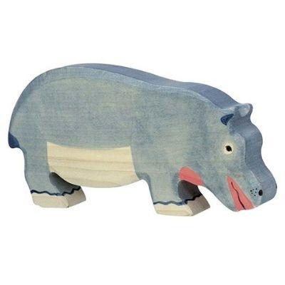 Holztiger Wildernis Nijlpaard etend 80161