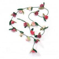 Kidsdepot roos slinger roze 200cm
