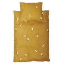 Roommate dekbedovertrek eenpersoons tijger geel