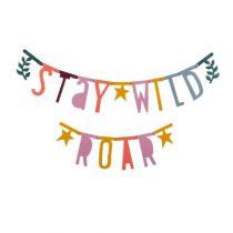 A Little Lovely Company letter banner slinger boho chic