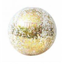 A Little Lovely Company oplaasbare strandbal glitters