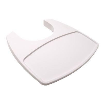 Leander meegroeistoel tafelblad wit
