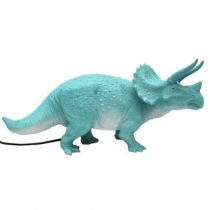 House of Disaster dinosaurus lamp turquoise