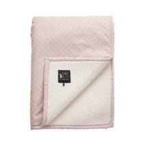 Mies & Co deken wieg teddy Pretty Pearls
