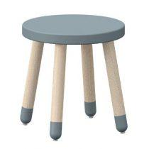Flexa Play stoeltje krukje light blue