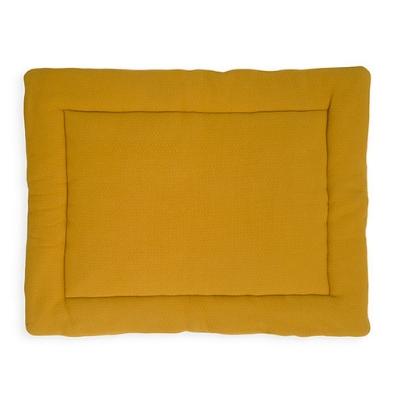 Jollein boxkleed Birck velvet mustard