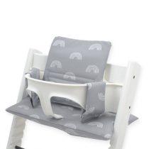 Jollein stoelverkleiner meegroeistoel Rainbow grey