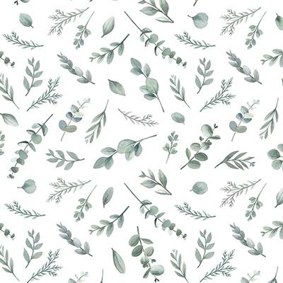 Lilipinso Greenery behang Eucalyptus