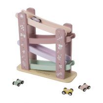 Little Dutch houten autobaan roze