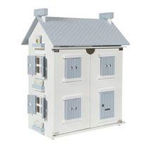 Little Dutch houten poppenhuis blauw