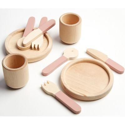Flexa Toys houten servies