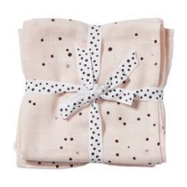 Done by Deer swaddle doeken Dreamy Dots powder