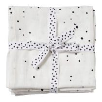 Done by Deer swaddle doeken Dreamy Dots white