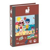 Janod magneetboek 4 seizoenen