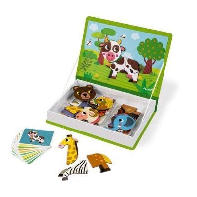 Janod magneetboek dieren