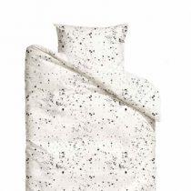 Mies & Co dekbedovertrek baby Galaxy offwhite