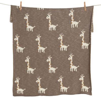 Quax dekentje on the go giraf