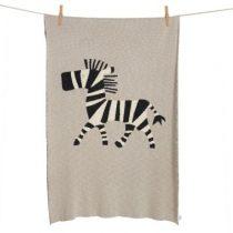 Quax ledikantdeken zebra