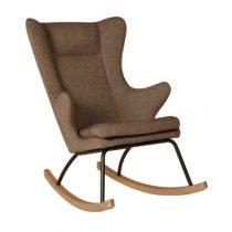 Quax schommelstoel Rocking Adult Chair latte