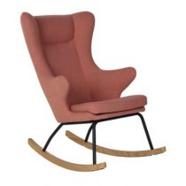 Quax schommelstoel Rocking Adult Chair soft peach