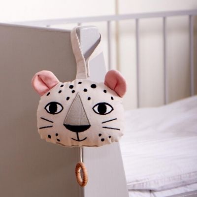 Roommate muziekmobiel luipaard